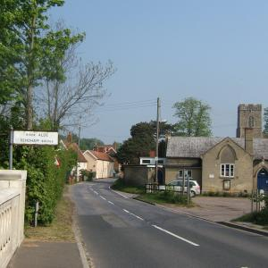 village Hall from sweffling 2